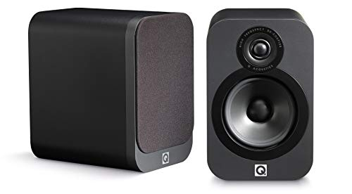 Q Acoustics 3020 Bookshelf Speakers (Pair) (Graphite)