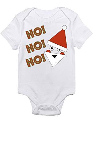 Promini Mono de bebé lindo HO! HO! HO! HO! Santa Claus - Mono divertido para bebé
