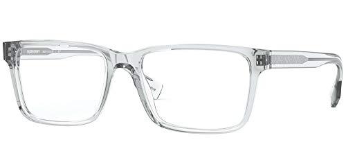 BURBERRY Gafas de Vista B CHECK BE 2320 Grey 53/17/145 hombre