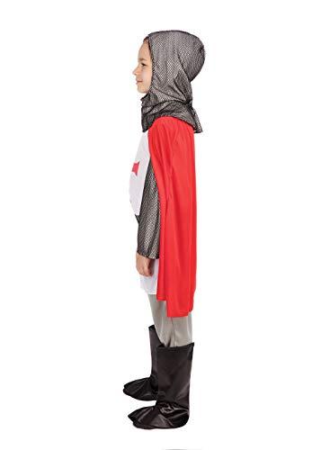 Crusader Boy – Kinder Kostüm – Small – 110cm bis 122cm - 2