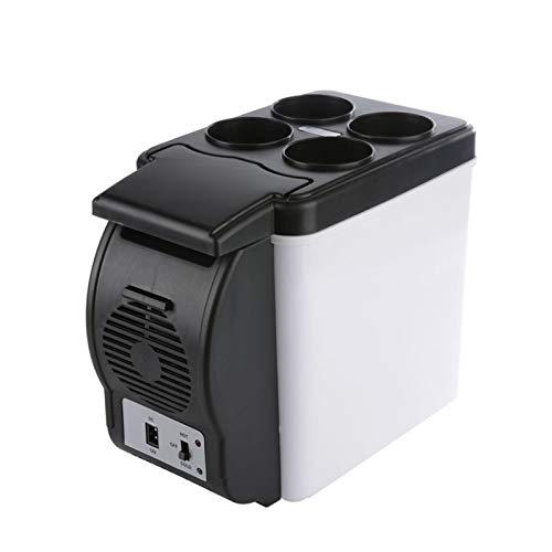 JCCOZ-URG 6L Smart Home Office Fridge Fridge Cool Electric Cooling Cooler y Warmer 12V Congelador portátil Refrigerador Inteligente URG