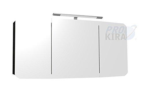 PELIPAL Cassca Spiegelschrank inkl. Beleuchtung/CS-SPS 06 / Comfort N/B: 140 cm