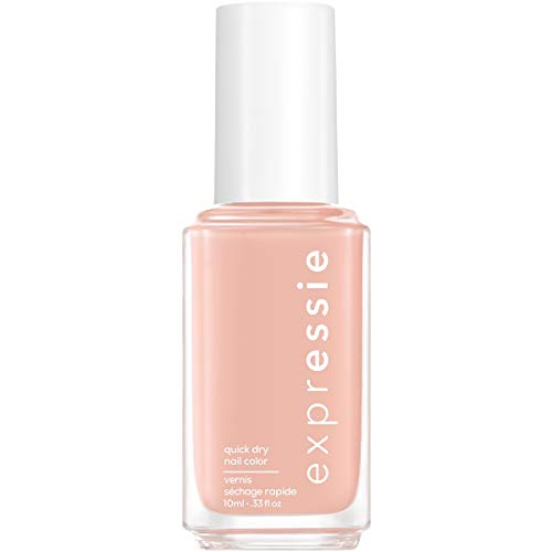essie expressie Quick-Dry Nail Polish, Soft Pink Beige 000 Crop Top & Roll, 0.33 Ounces