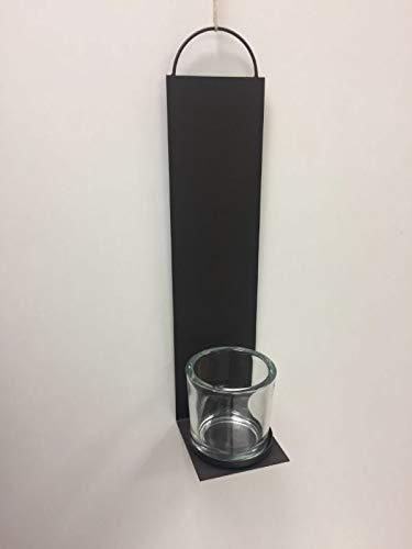 CALEIDO Wandkerzenhalter Windlicht Susanne Höhe 55 cm