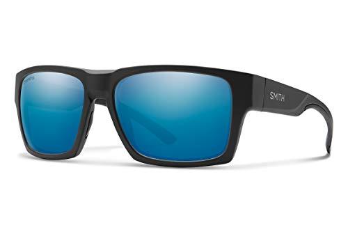 Smith Optics Outlier XL 2 Sunglasses, Matte Black/ChromaPop Polarized Blue Mirror, One Size -  20067312459QG