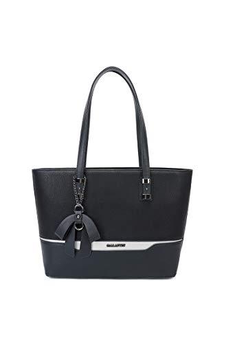 Miniprix sac classeur, Borsa tote donna Nero nero taglia unica, Nero (bianco), taglia unica
