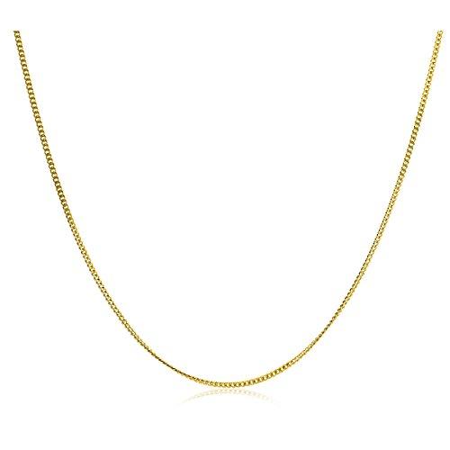 Orovi Catena Grumetta in Oro Giallo Oro 9 Kt / 375 Catenina Cm 45