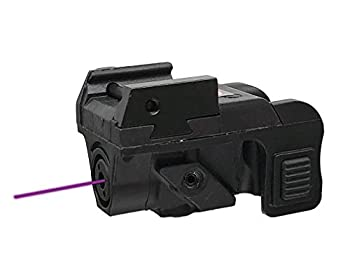 HILIGHT Tactical P3P Purple Laser │ Purple Dot Sight for Pistol │ Purple Dot Sights for Rifles │ Airsoft Gun Lasers │ Tactical Gear │ Hunting Gear │ Weaver or Picatinny Rail