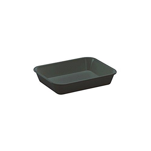 WACA® 1400-790 Auslageschale Präsentationsschale 190x150x40 mm schwarz