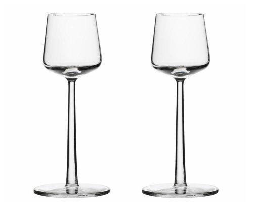 Essence - Set de 6 copas de jerez transparente/15cl/6 unidades