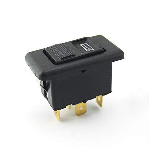 20A universal 5pines Botón Elevalunas Interruptor...