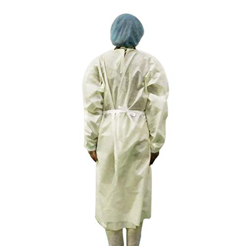 Katurn 10 Stück Schutzkleidung, Einwegschutzkleid, Home Outdoor Schutzkleidung Zum Outdoor Cycling Anti-Fog Anti-Partikel