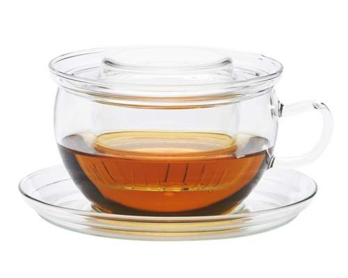 Trendglas Jena TEA TIME Teetasse mit Glasfilter, 0.4 L