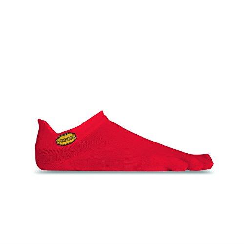 Vibram Fivefingers - Calcetines deportivos para hombre, Hombre, S18N04L, rojo, L