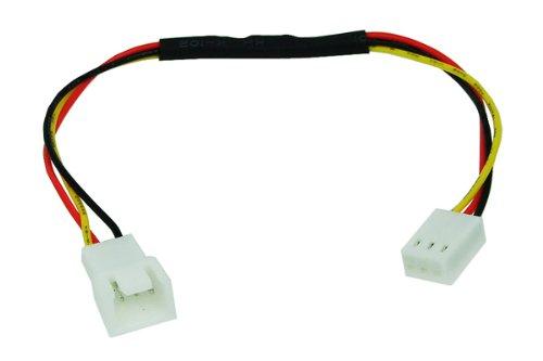 Phobya Adapter 3Pin (12V) auf 3Pin (7V) 20cm Kabel Lüfterkabel und Adapter