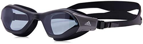 adidas Unisex– Erwachsene PERSISTAR 180 Schwimmbrillen, Smoke Lenses/Utility Black/Utility Black, M