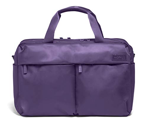Lipault - City Plume 24H Bag - Top Handle Overnight Travel Weekender Luggage- Light Plum