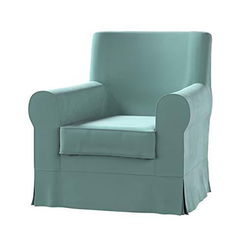 Dekoria Ektorp Jennylund Sesselbezug Sofahusse passend für IKEA Modell Ektorp mintgrün
