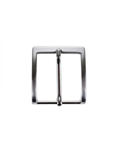 La Bottega del Calzolaio Fibbia per cinture nichel free anallergica 3 cm