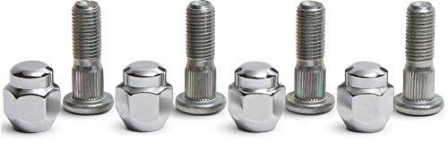 All Balls Wheel Stud and Nut Kit Front/Rear Application for Various Honda Models 85-1044