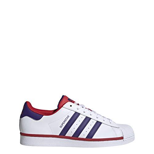 adidas Hombre Superstar Zapatillas Blanco, 40 2/3