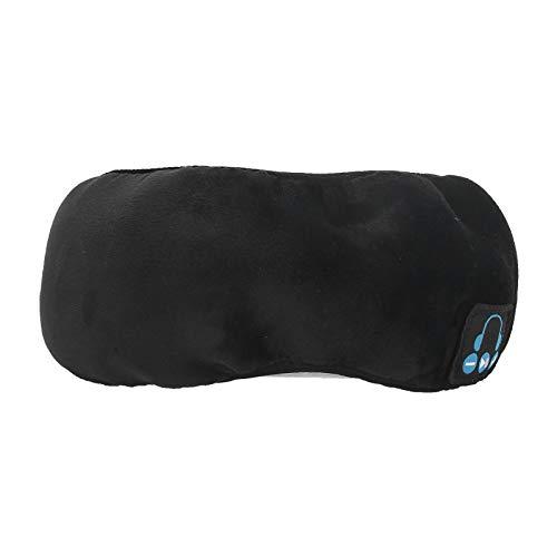 Augenklappe, Augenmaskenabdeckung, atmungsaktives USB-Laden Praktisch für Männer, die schlafende Frauen entspannen(black)