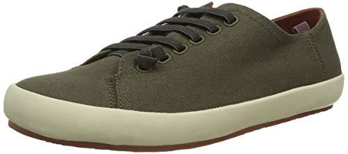 CAMPER Herren Peu Rambla Vulcanizado Sneaker, Grün (Medium Green 310), 44 EU