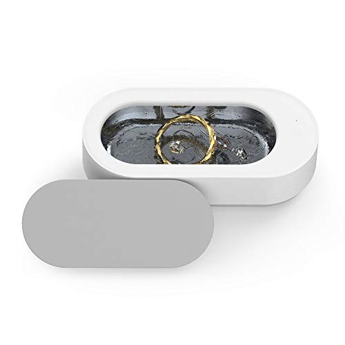 XiaoMi Ultrasonic Jewelry Cleaner Professional Ultrasonic Machine for Cleaning Rings,Necklaces,Watches, Denture,Eyeglasses,Coins,Razors,Parts, Instruments with 11.5 Ounces(340ml), XiaoMi supplychain