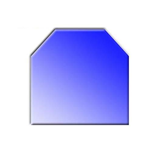 Glasbodenplatte für Kaminöfen Sechseck 1000x1200 8mm