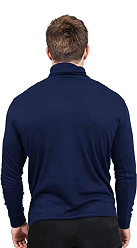 Utopia Wear Premium Cotton Blend Interlock Turtleneck