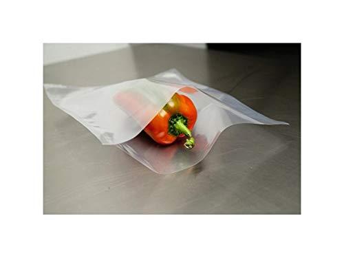 Bolsas lisas para envasar al vacío, gramaje 90 cm, 28 x 38 cm, 100 unidades