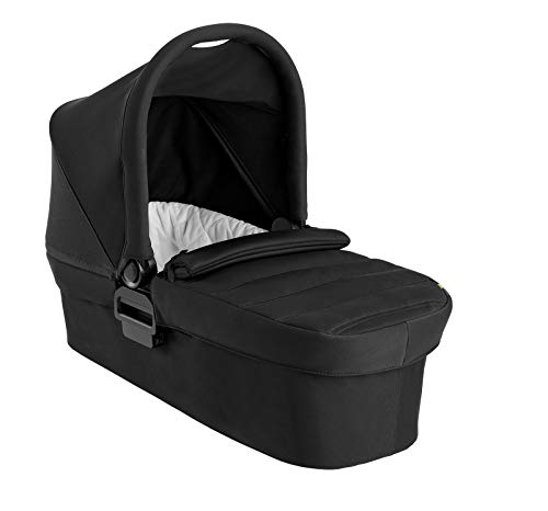 Baby Jogger 2111647 - Cochecito de bebé con capazo plegable para City Mini 2 Double y City Mini GT2 Double Jet, 3,801 kg, color negro