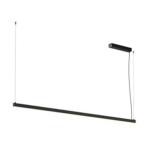 SLV Arosa Suspension d'intérieur en aluminium Noir 2 m 3000 K 65 W