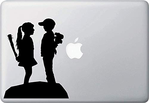 SUPERSTICKI Boy Meets Girl - MacBook of laptop Vinyl Decal Sticker - (15