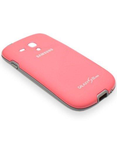 EFC-1M7BPE Original Samsung Protectiv Cover für i8190 Galaxy S3 mini - Pink