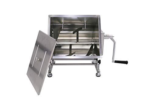 Hakka 20-Pound 10-Liter Capacity Tilt Tank Manual Meat Mixers