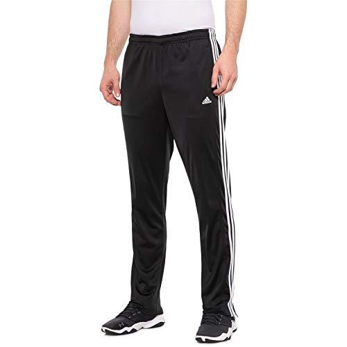 adidas Essential Tricot Zip Pants for Men, Black, Medium