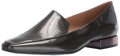 Naturalizer Women's CLEA Loafer Flat, Gunmetal, 9 M US