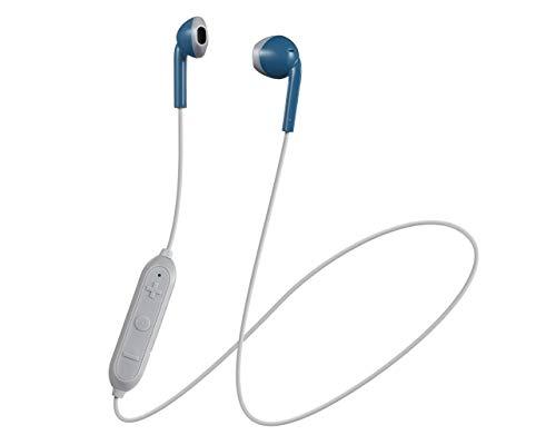 JVC HA-F19BT - Auriculares (Inalámbrico, Dentro de oído, Binaural, Intraaural, 20-20000 Hz, Azul)