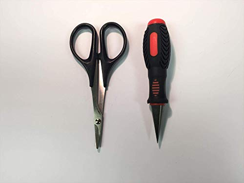 Curved Lexan Bodyshell scissors and Conical Body Reamer for RC car. truck etc