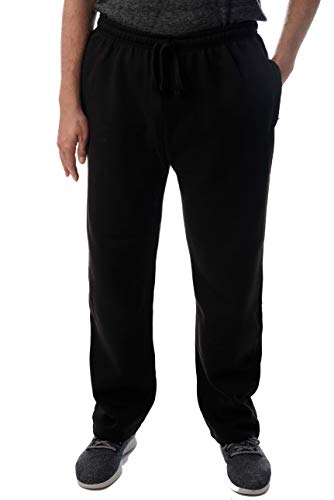 At The Buzzer Mens Sweatpants for Men 34972-BLK-L Black