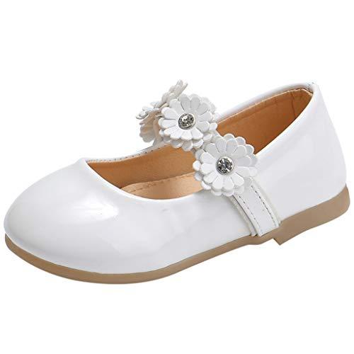 Jaysis Kleinkind Schuhe Kinderschuhe Sommer Sandale Kinder Mädchen Nette Blume Prinzessin Tanzen Einzelne Freizeitschuhe Festliche Mädchenschuhe Taufschuhe