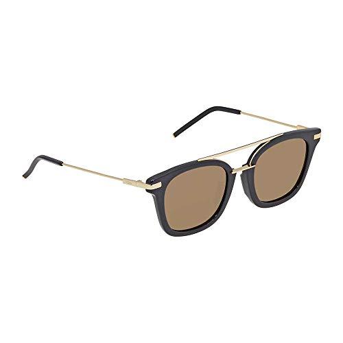 FENDI Sonnenbrille FF 0224/F/S Pjp Gafas de sol, Azul (Blau), 51.0 para Hombre