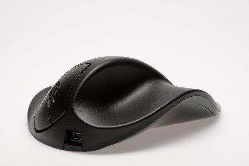 HIPPUS HandShoe Mouse rechts L | optische Maus | ergonomisches Design - Vorbeugung gegen Mausarm/Tennisarm (RSI Syndrom) - besonders armschonend | 2 Tasten