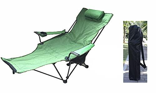 CNBPLS Sillas De Camping, Tela Plegable Reclinable, Portátil con Taza De Taza Desmontable Y Transporte Silla De Playa,C