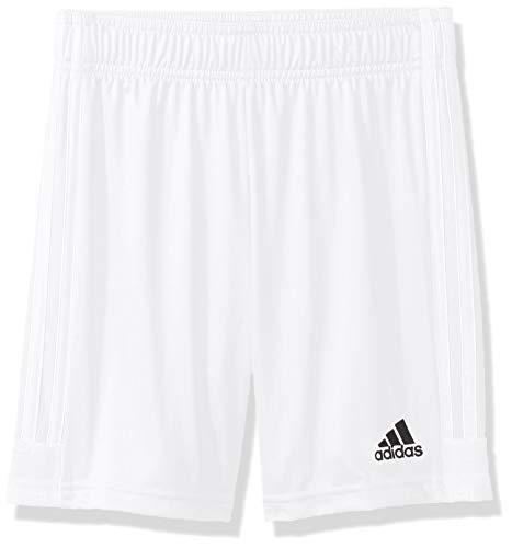adidas Tastigo 19 Shorts Pantalones Cortos, White/White, Youth M Infantil