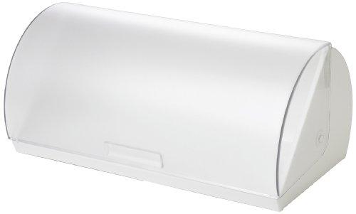 Emsa 2258401200 Rollbrotkasten, Kunststoff, 40 cm lang, Weiß, Superline