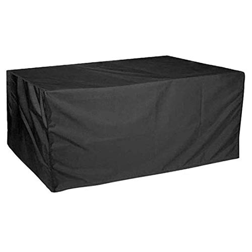 BAOFI Garden Furniture Covers Waterproof 123x123x72cm, Patio Furniture Cover Dust Proof, 210D Oxford Patio Protective Cover Rectangular Garden Patio Table Chairs Cover for Outdoor Furniture Cover