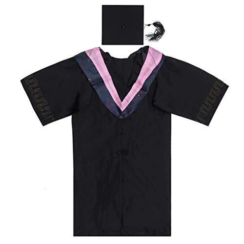 PRETYZOOM 2020 Bata de Graduación Uniformes Bata de Graduación para Bachiller Universitario de Secundaria (Más de 177 Cm (69.7 Pulgadas) de Altura)