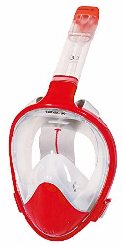 BEUCHAT Smile - Máscara de Superficie, Unisex, Color Rojo